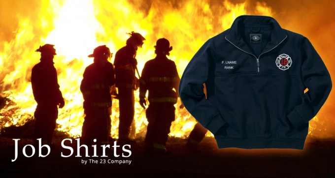 Fire Department Job Shirts