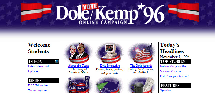 Dole/Kemp 96