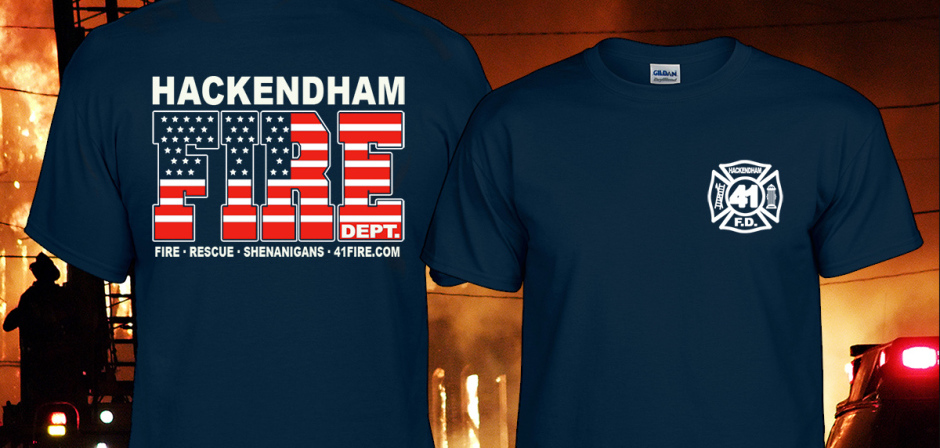 Custom Fire Dept T-Shirts