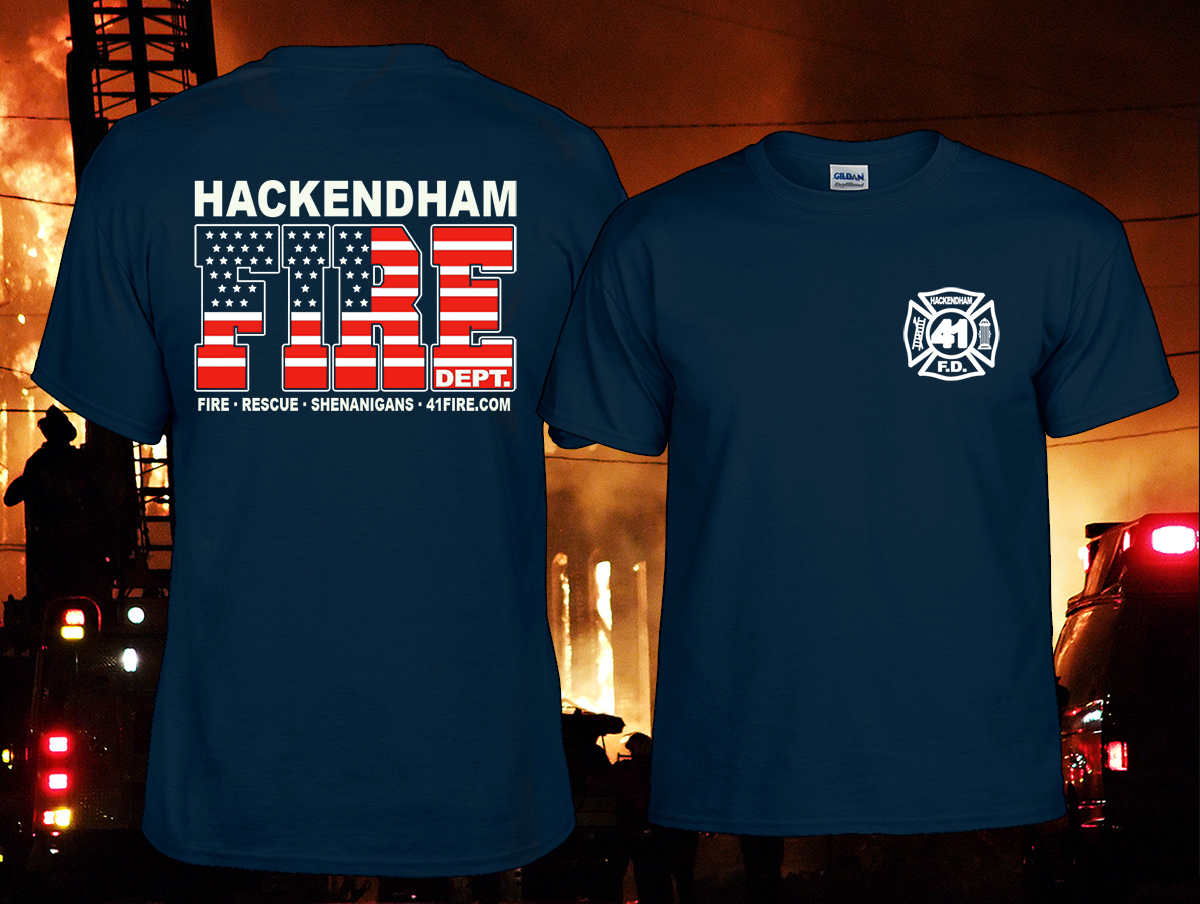 custom fire department t shirts the 23 company