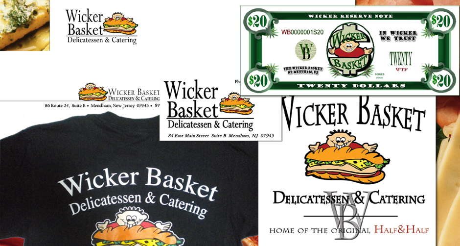 Wicker Basket Delicatessen
